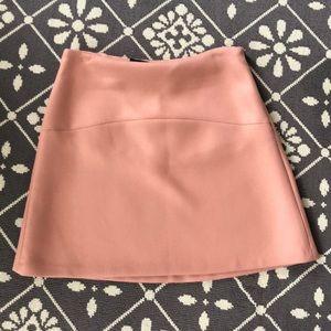 NWT Zara Women Blush Skirt